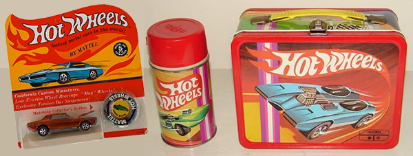 hot wheels lunchbox
