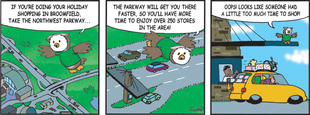 northwest parkway comic cartoon