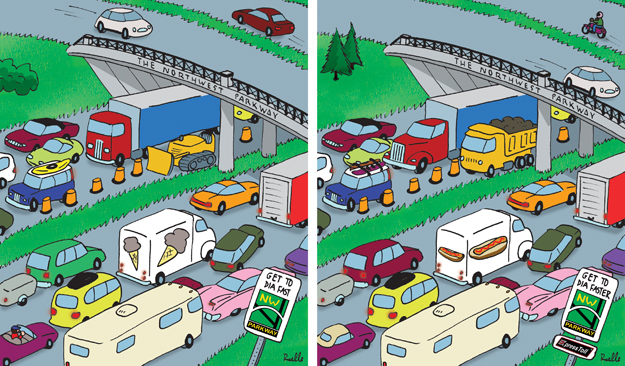 northwest parkway comic cartoon game