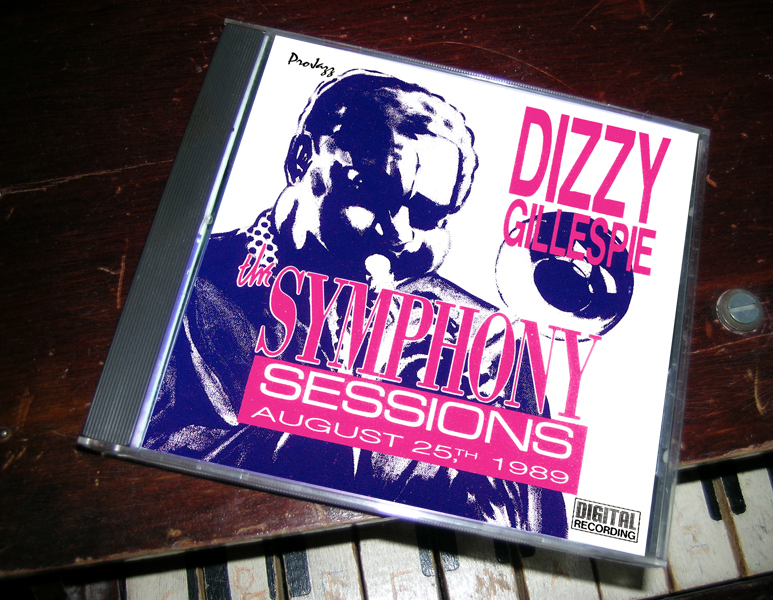 dizzy gillespie symphone sessions