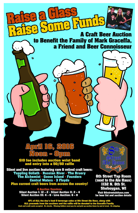 charity beer fundraiser event