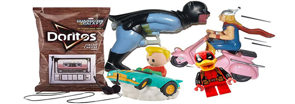 weird super hero toys